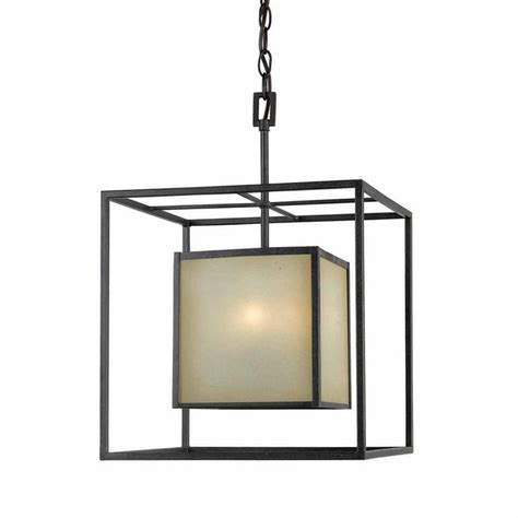 Square Pendant Lights World Imports Wi411555 4 Light Hilden Small Square Foyer Pendant