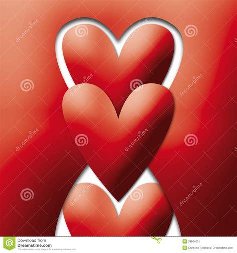 imagenes de corazones alegres corazones alegres rojos imagen de archivo imagen 28664601