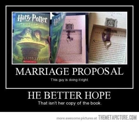 Meme Wedding Proposal - harry potter meme harry potter marriage proposal done