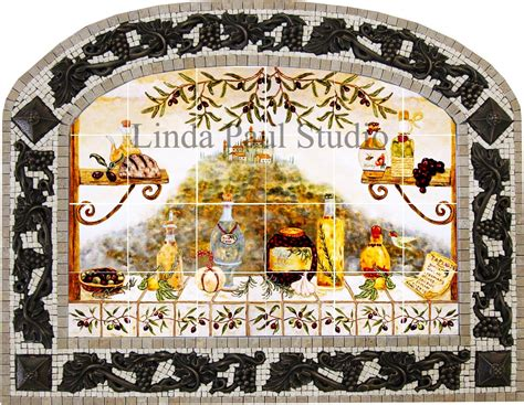 italian tile backsplash kitchen tiles murals ideas