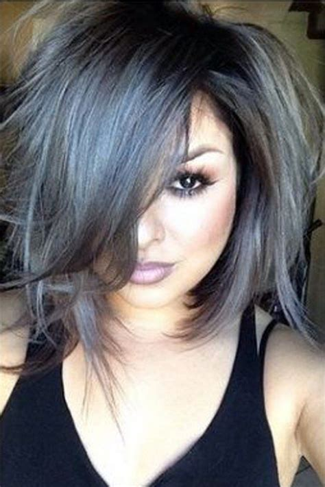 glamorous styles for medium grey hair medium hair styles the how to steps for cool grey hair