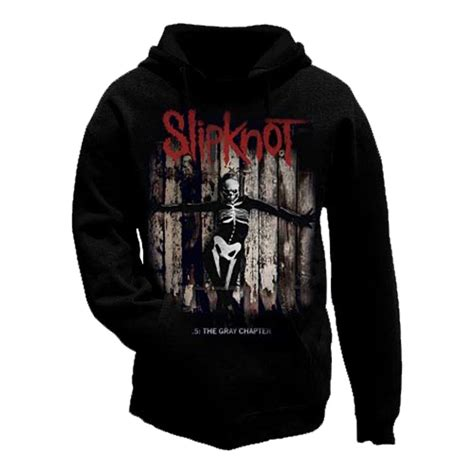 Hoodie Zipper Slikpknot Hitam official slipknot hoody hoodie 5 the gray chapter album all sizes ebay