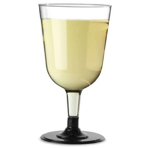 disposable barware disposable wine glasses black 8 5oz 240ml