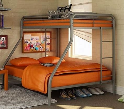 twin over full metal bunk bed metal bunk beds twin over full interior exterior doors