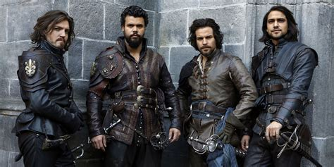 Three Musketeer the musketeers got a deal from the at the end there they deserved better