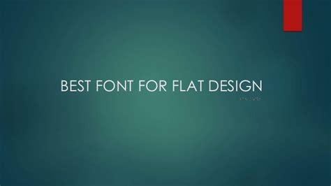 font design flat top 10 fonts for flat web design