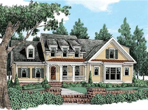 Eplans Cottage House Plan Plenty Of Curb Appeal 2891 Eplans Cottage House Plan