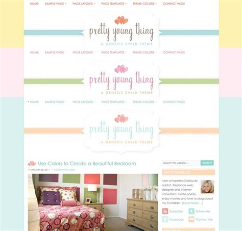 cute themes wordpress free cute pink wordpress theme pretty young thing dobeweb