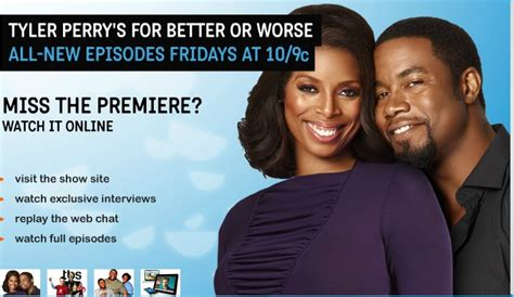 for better or worse by perry thoughts on perry s new tv series for better or
