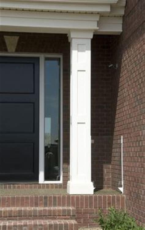 Front Door Pillars Pillars For Front Porch W Shake House