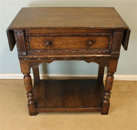 antique oak table antique oak side table antiques atlas