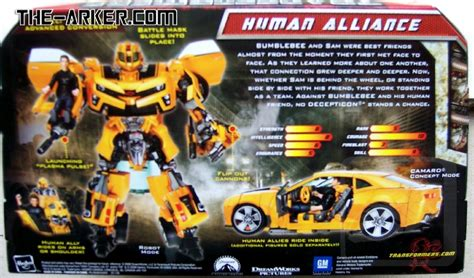 Figure Transformers Bumbleebee Canon Voyager Class Transformers Rotf Human Alliance Bumblebee And Ironhide
