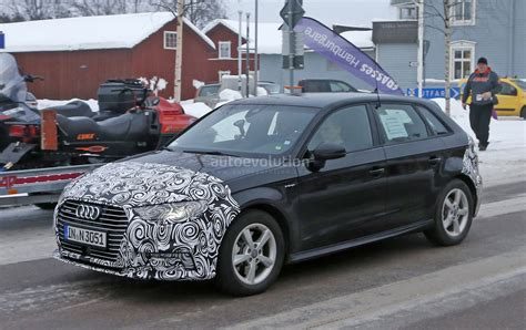 Audi A3 Facelift Scheinwerfer by 2017 Audi A3 E Facelift Shows A4 Headlights And New