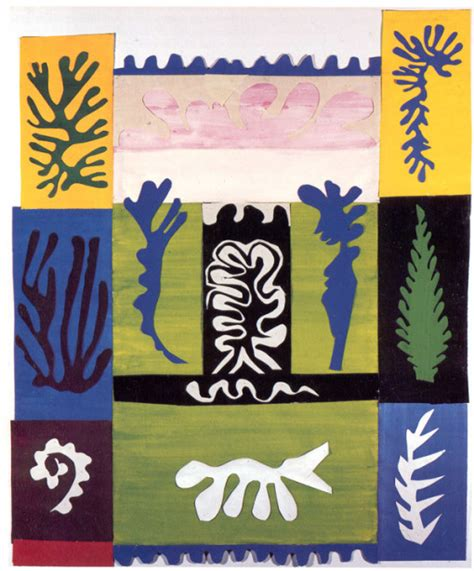Henri Matisse Decoupage - decoupage made modern
