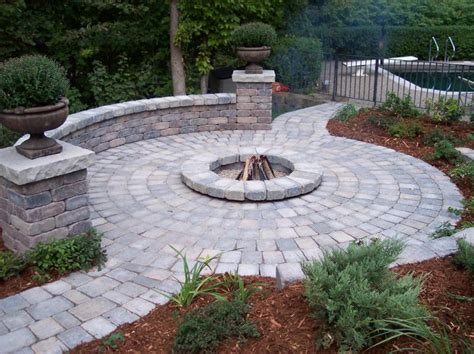 landscaping ideas with fire pit pdf