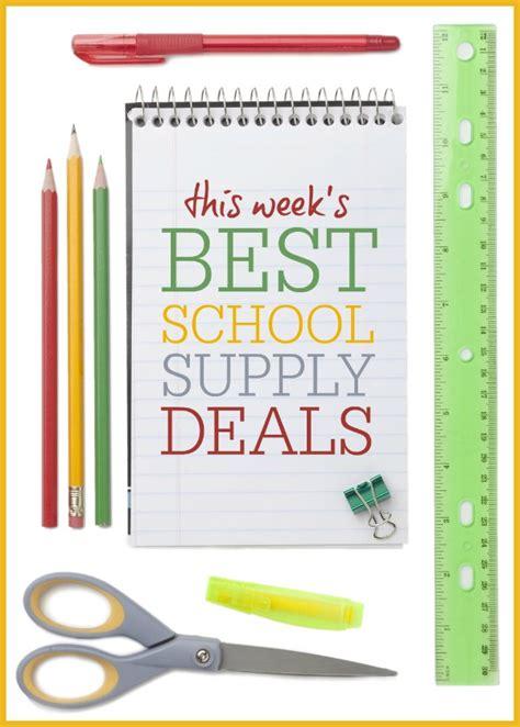this week s best school supply deals july 27 august 2