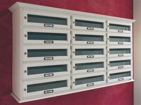 ravasi cassette postali cassetta postale in legno mod orizzontale cassetta