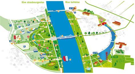 le jardin des deux rives strasbourg