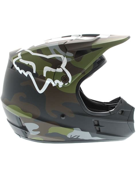 16 Helmet Special fox camo green 2016 special edition v1 mx helmet fox