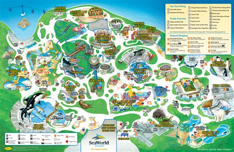 seaworld texas map seaworld san antonio map 2014