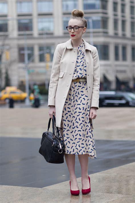 new york fashion week fall 2012 s 海外のストリートスナップ