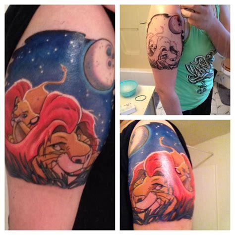 mufasa tattoo lionking simba mufasa my tattoos