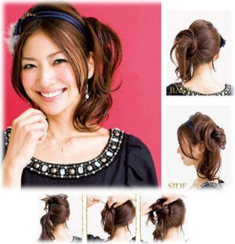 homecoming hairstyles for asian hair side bun hairstyles bun hairstyles and korean hairstyles