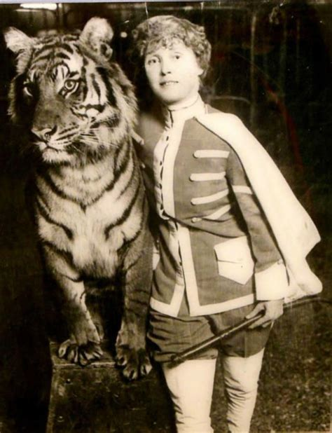 mabel stark the with the tigers mental floss - Möbel Starke