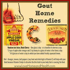 home remedy for gout a gout home remedy that will give you serious relief