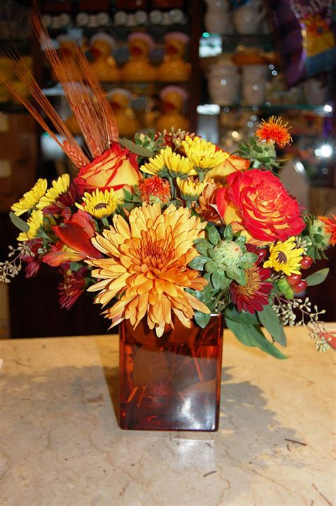 fall floral arrangements sending fall flower arrangements