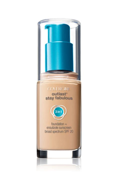 Covergirl Outlast Foundation review cover outlast stay fabulous 3 in 1 foundation