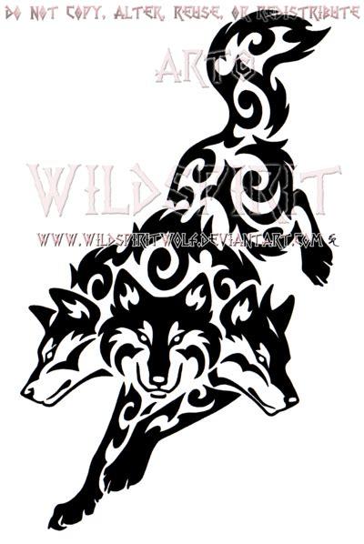 tribal cerberus design by wildspiritwolf on deviantart