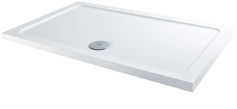 Slimline Shower Tray 1200 X 800 by Mx Slim Shower Tray 1200 X 800mm X 45mm White