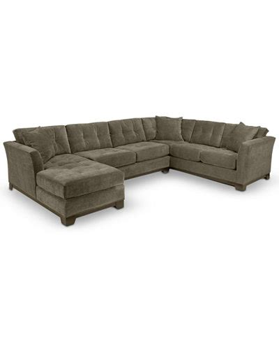 elliot fabric microfiber sectional sofa 3 piece sectional sofas davis 3 piece sectional sofa crate