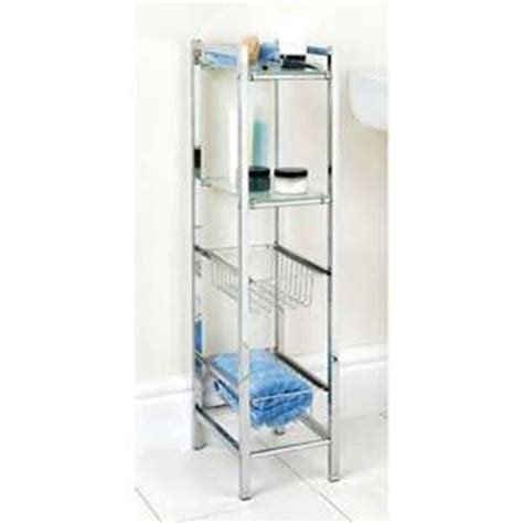 bathroom storage unit deluxe free standing chrome spa bathroom shower storage
