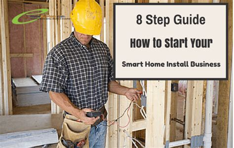 8 step guide on how to start your smart home installation