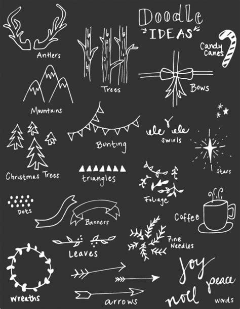 chalkboard gift wrap plus free doodle ideas printable