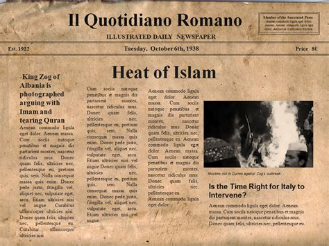 10 best images of old style newspaper template old