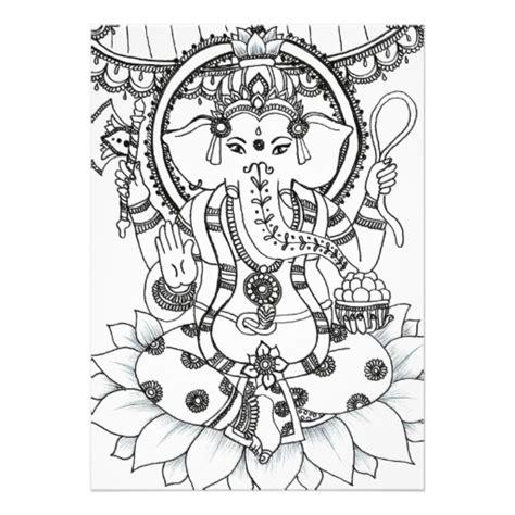 mehndi elephant coloring page mehndi elephant colouring pages