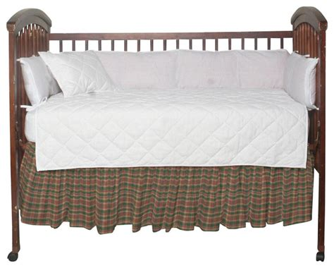 Brown Crib Dust Ruffle by Green Andwarm Brown And Plai Fabric Dust Ruffle Crib