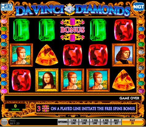 da vinci diamonds slot machine uk play  igt slots