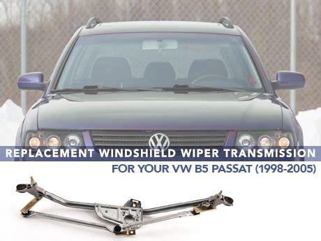 repair windshield wipe control 1998 volkswagen cabriolet on board diagnostic system ecs news windshield wiper transmission vw b5 passat 98 05