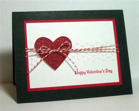 Handmade Valentines Card Design - handmade card sparkly by dpetersen