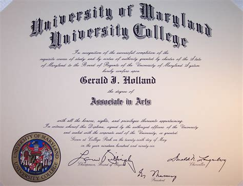 Umd Mba Requirements by College College Certificate