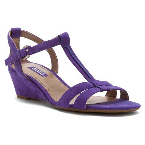 womens sandals ecco women s rivas 45 sandals in iris nubuck sneaker cabinet