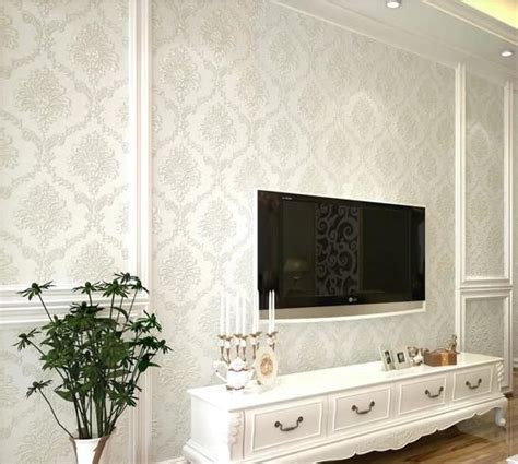 living room wallpaper feature wall aliexpresscom buy modern damask feature wallpaper wall living room feature wall wallpaper