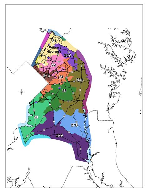 Search Pg County Md 100 Baltimore City Council District Map Map Gallery