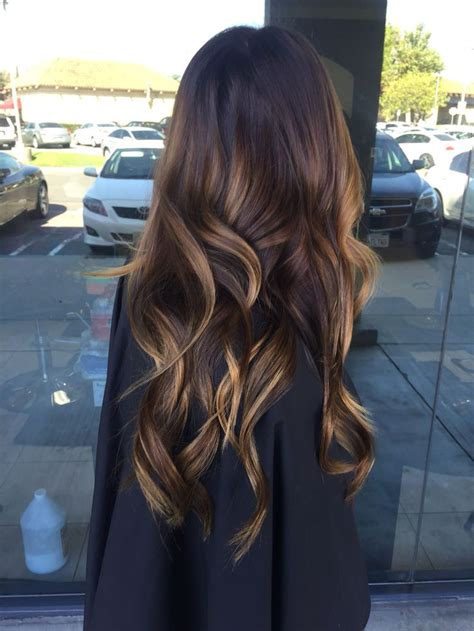 sunkissed brown hair extensions the 25 best sun kissed highlights ideas on