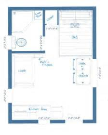cabin floorplan our guest cabin