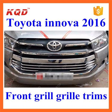 Kijang Innova 2014 2015 Front Bumper Trim Chrome Jsl Toyota Innova 2016 Accessories High Fitment Chrome Front